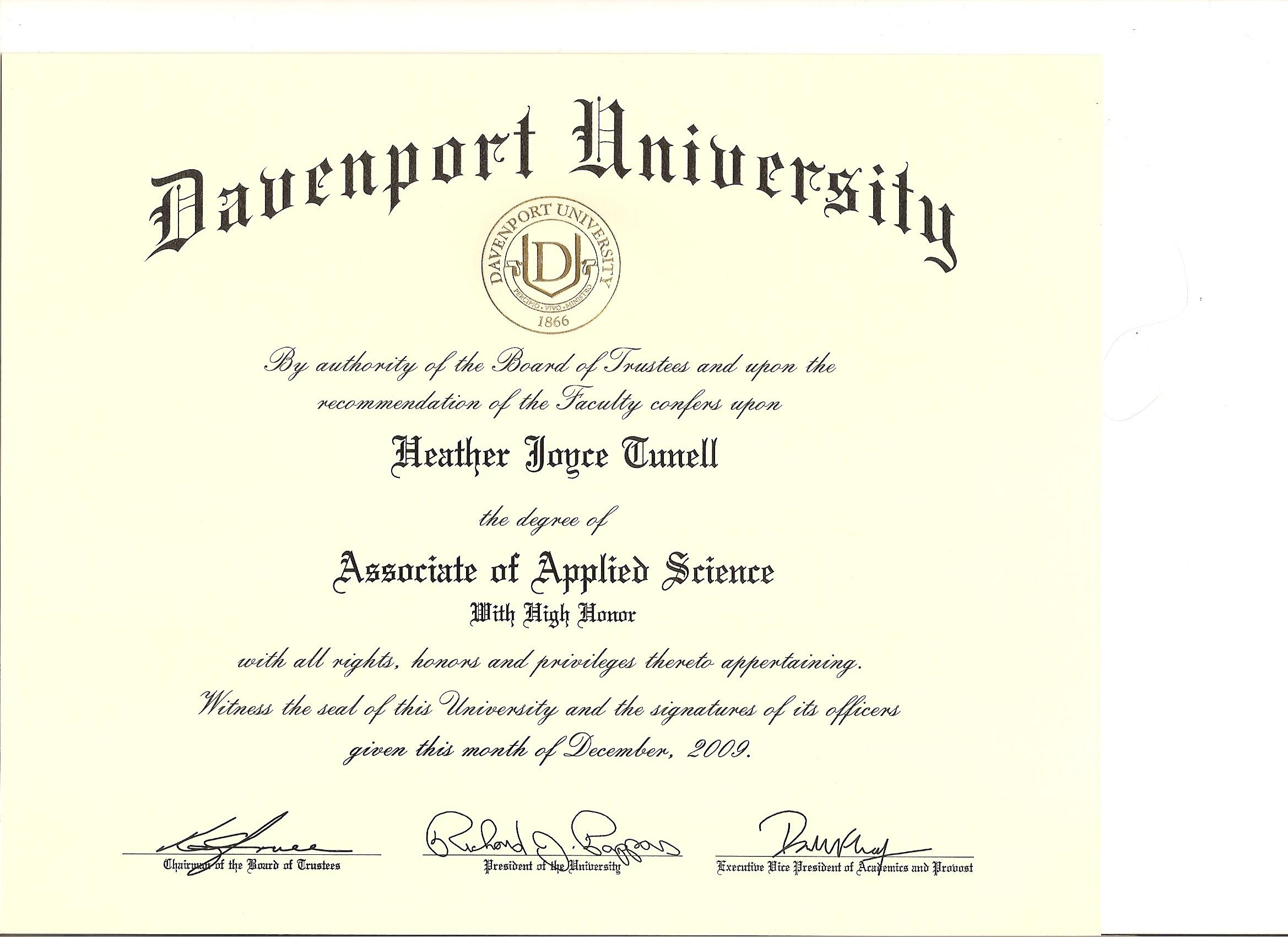 Photos Of Masters Certificate Vs Degree